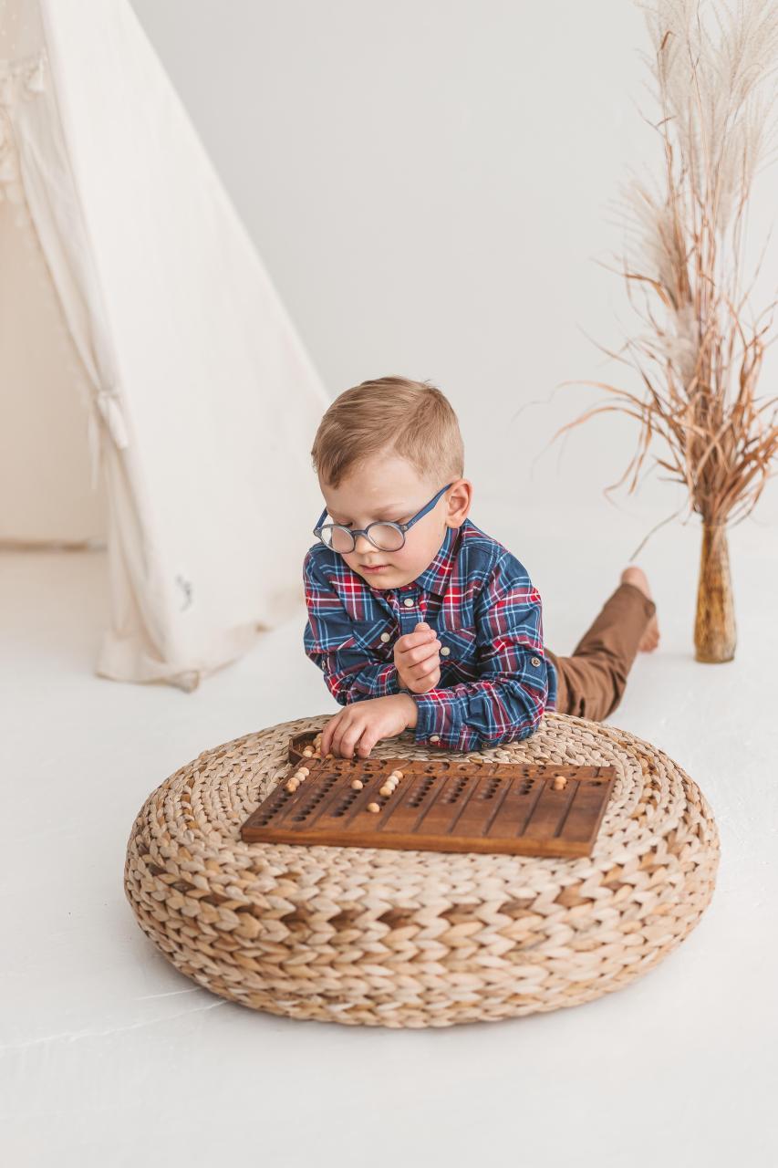 1-10 Math Manipulatives Board by Woodinout Montessori toys