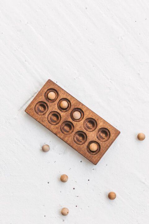Ten Frame - Montessori math material by Woodinout
